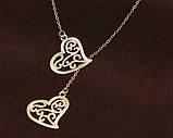 Подвеска CACANA сердца золото/бижутерия/цвет золото, фото 2