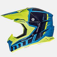 Мотошлем MT Synchrony Spec Blue
