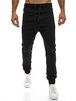 Мужские штаны карго Athletic черные