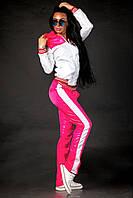 Женский яркий спортивный костюм тёплый