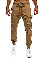 Мужские штаны карго Athletic светло-коричневые