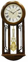Часы настенные из дерева - Буфет -( бой)- JAPAN (прозрачный