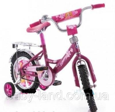 """Велосипед детский двухколесный 16 дюймов Mustang -""""Принцесса"""""""