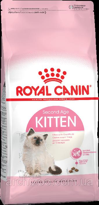 Royal Canin Kitten 0,4кг для котят до 12 месяцев