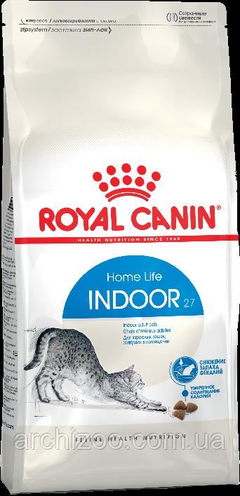 Royal Canin Indoor 2кг для взрослых кошек живущих в помещении