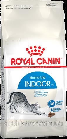 Royal Canin Indoor 2кг для взрослых кошек живущих в помещении, фото 2
