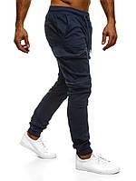 Мужские штаны карго Athletic синие