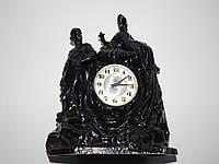 Часы настольные МОЛНИЯ ХОЗЯЙКА МЕДНОЙ ГОРЫ ЧУГУН  4001