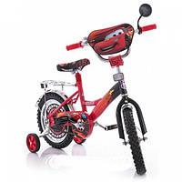 """Велосипед детский двухколесный 16 дюймов Mustang -""""Тачки"""" Cars"""