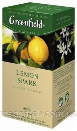 Чай Greenfield Lemon Spark, 25 пакетов, фото 2