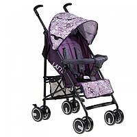 Детская коляска трость Everflo SK-165 Latte фиолетовая купить оптом и в розницу в Украине 7 км