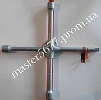 """Ключ балонный крест усиленный CRV 17х19х21мм х1/2"""""""