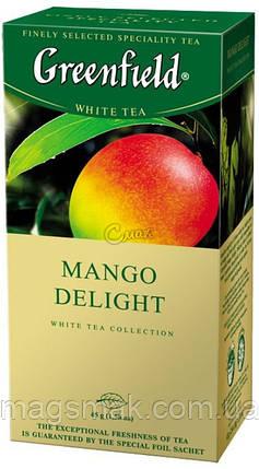 Чай Greenfield Mango Delight, 25 пакетов, фото 2