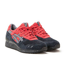Мужские кроссовки Asics Gel Lyte III Black Red топ реплика, фото 2
