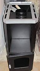 """Банная печь """"Классик"""" с выносной топкой кожух из нержавеющей стали, фото 2"""