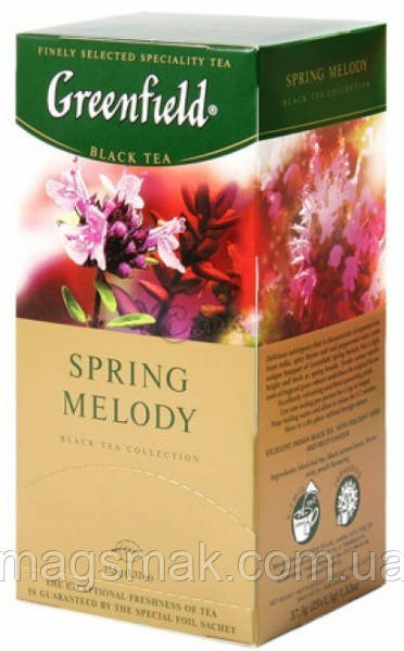 Чай Greenfield Spring Melody, 25 пакетов