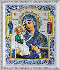 """Набор для вышивки бисером Икона Богородицы """"Иерусалимская"""""""