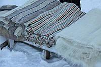 Шерстяное одеяло двуспальное (ліжник гуцульський)