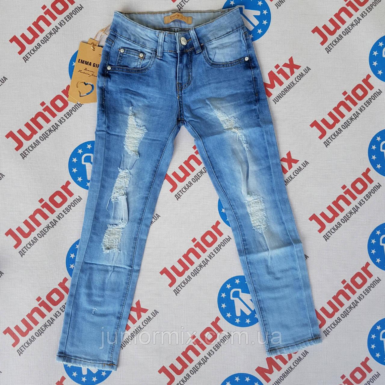 Подростковые рванные джинсы на девочку Emma Girl