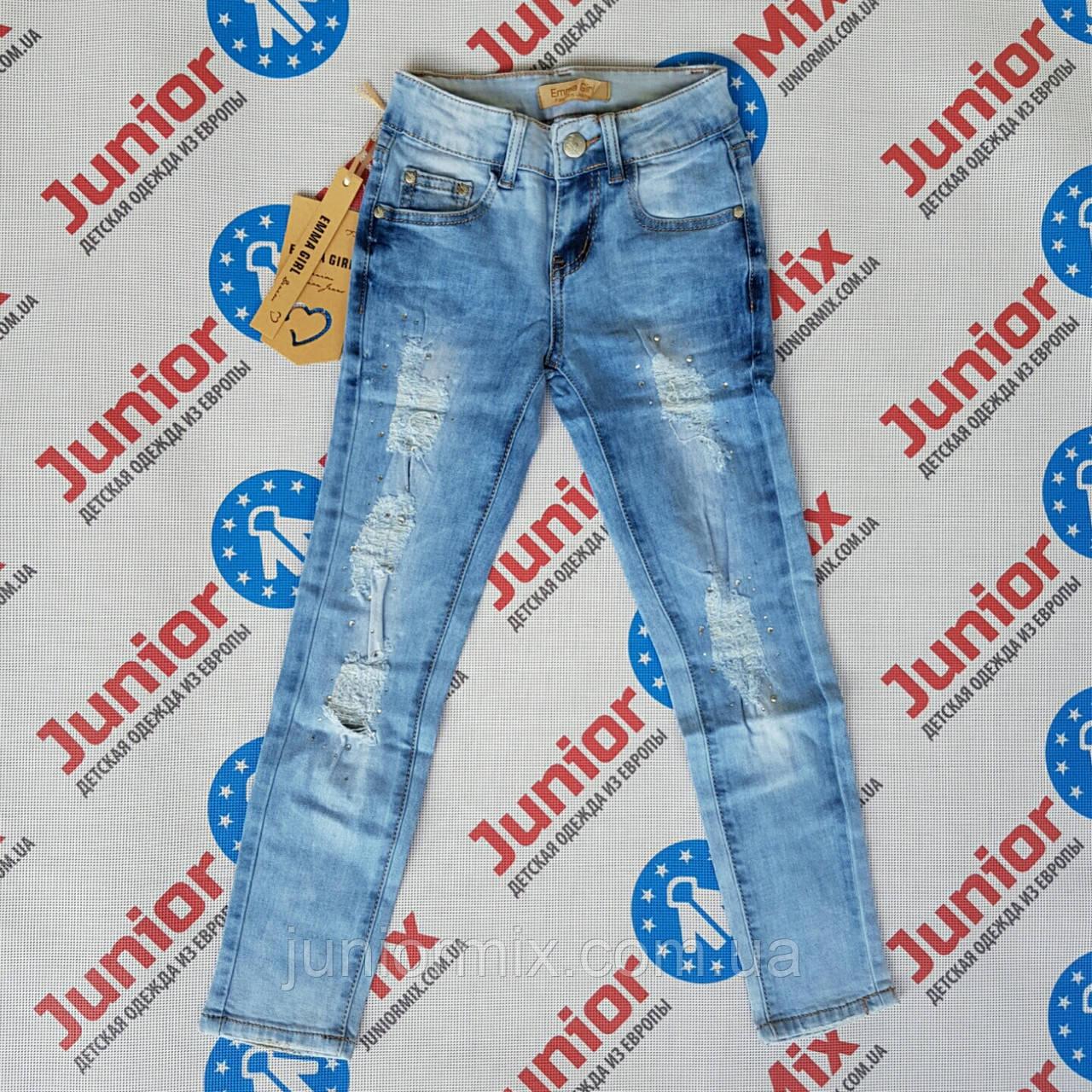 Подростковые  джинсы на девочек EMMA GIRL