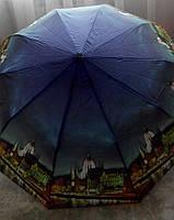 Зонт женский полуавтомат MARIO UMBRELLA, разные цвета и узоры