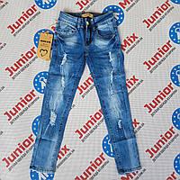 Рваные подростковые джинсы на девочку Emma  Girl, фото 1