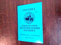 Ветеринарный паспорт для котов и собак