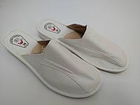 Тапочки женские на каблуке закрытые
