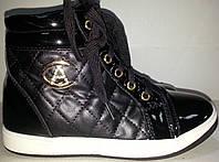 Ботинки женские деми MEINA 608 черные TONI