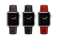 Кожанный Браслет для Apple watch 42 mm.