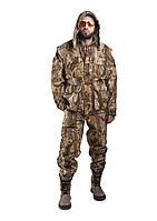 Весенний костюм для рыбалки, температура комфорта - 10с