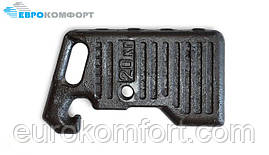 Груз передний противовес 20 кг МТЗ 70-4235011
