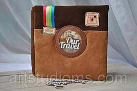 TRAVELbook (тревелбук) - альбом ручной работы для фото и записей о путешествиях