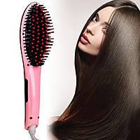 Расческа-выпрямитель Fast hair HQT-906, электрическая расческа для выпрямления волос