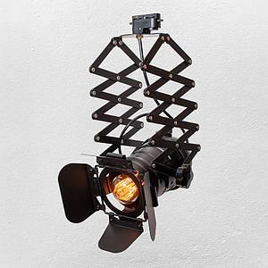 Прожектор на треке в стиле лофт (модель 52-14 BK трек )