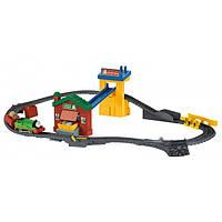 Fisher-Price Железная дорога с моторизированным Перси Сортировка и доставка грузов Thomas & Friends TrackMaster Sort & Switch Delivery Set