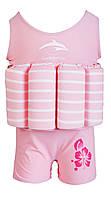 Купальник-поплавок Konfidence Floatsuits, Цвет: Pink Stripe, S/ 1-2 г (FS02XSC)
