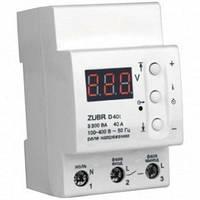 Реле напряжения ZUBR D40t 40А с термозащитой