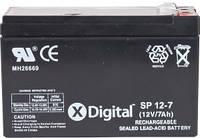 Аккумулятор свинцовый X-DIGITAL SPb 12-7 SW1270