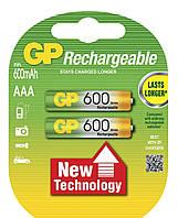 Аккумулятор GP 60AAAHC-U2 Ni-MH AAA  R03/1.2V (2шт. в уп.)