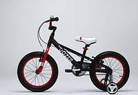 Детский велосипед 18 Royal Baby Bull Dozer черный