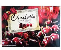 Шоколадные конфеты в коробке Charlotte Cherry in Alcohol вишня в ликере, 232 гр.