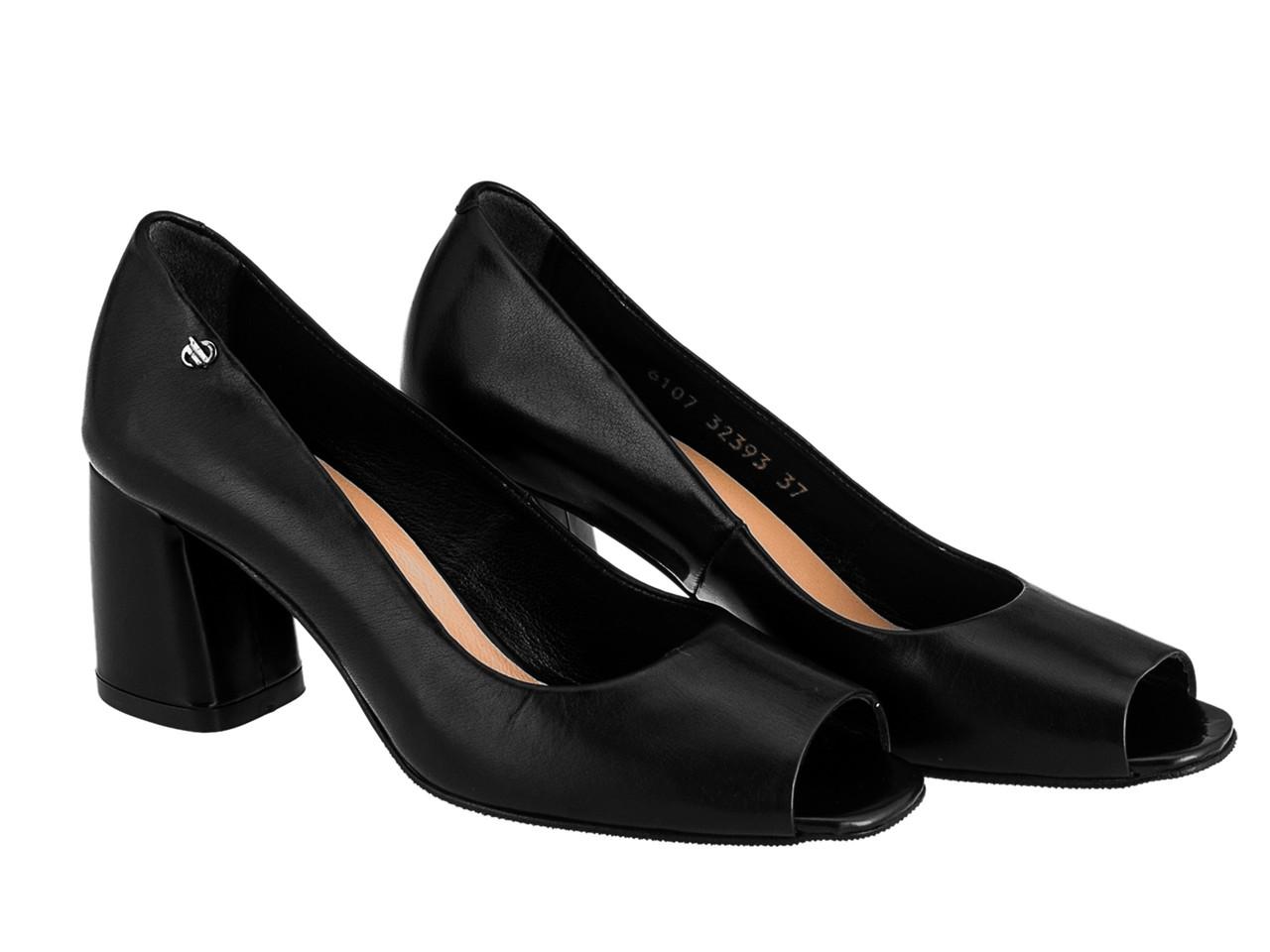 Туфлі Etor 6107-9-10407 36 чорні