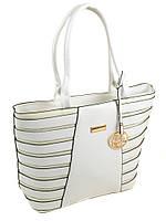 Белая сумка классика летняя