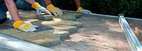 Правила укладання тротуарної плитки своїми руками