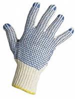 Трикотажные перчатки с ПВХ нанесением (103)