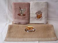 Кофейные чашки 12 шт в уп. Размер 35х70 100% хлопок кухонное полотенце оптом