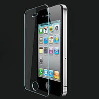 4/4S iPhone tempered glass Veron (2.5D) with rounded edges без упаковки