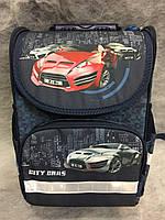 Ранец ортопедический Zibi Top Zip City Cars (ZB16.0109CC)