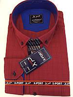 Рубашка в клетку X-port